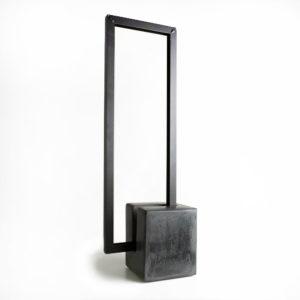 lampe ponctuation en béton ciré et métal vue principale
