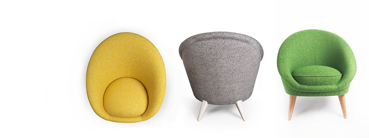 osez la couleur avec les fauteuils collection kiwi