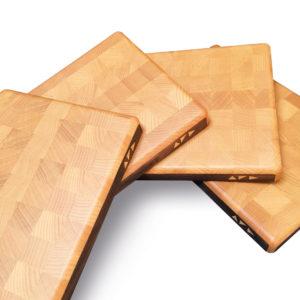 planche à découper en bois de Hêtre bois de bout